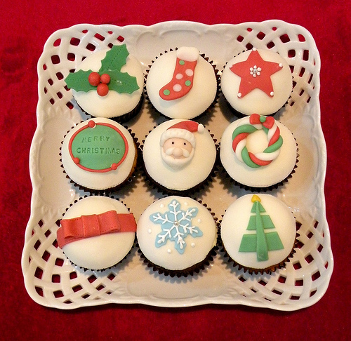 christmas cupcakes healthy
