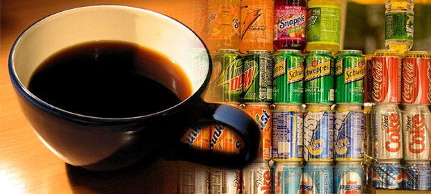 soda vs coffee