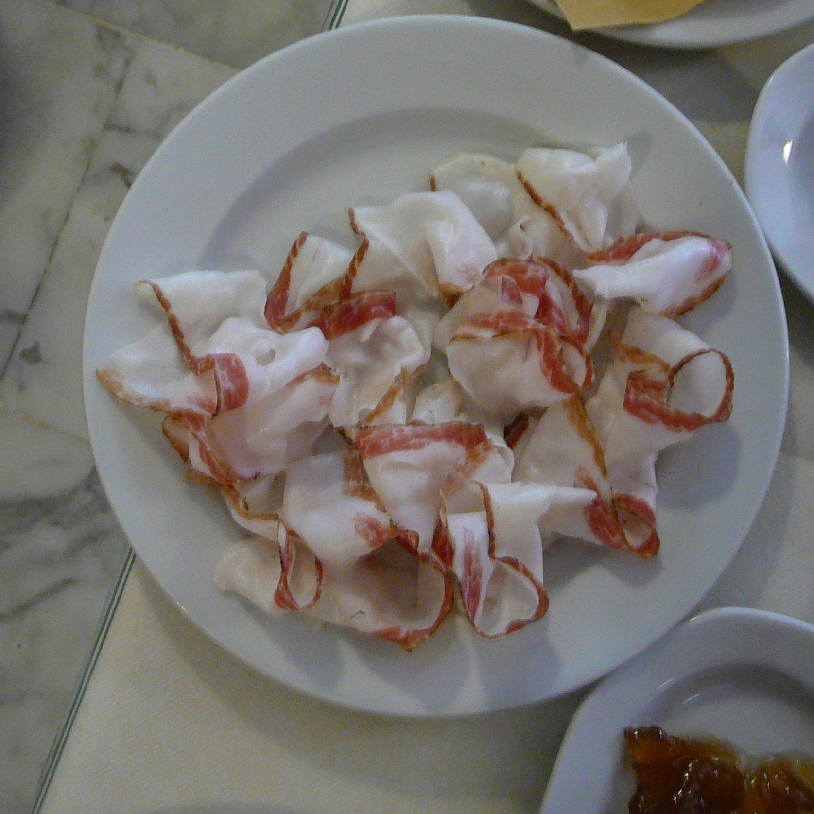 Lardo di Colonnata or cured lard