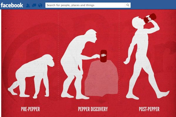 Dr Pepper- Evolution @ FB