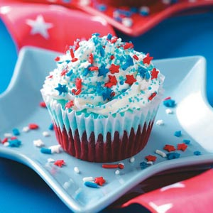 4th Of July Cupcake