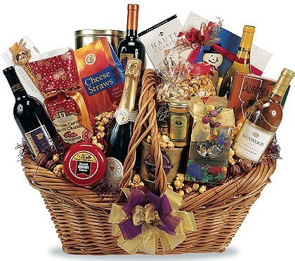 happy anniversary gift baskets
