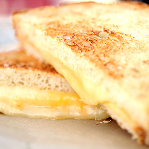 American grilled cheese