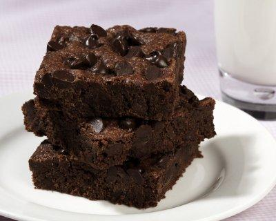 Applesauce Brownie Squares
