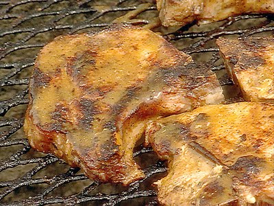 Barbecued Pork Chops - Barbecued Pork Starters