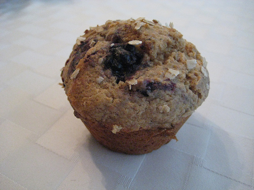 Berry Oats Cupcake