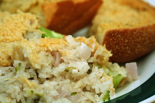 Breakfast Rice Casserole