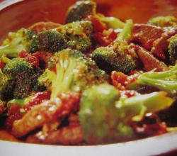 Stir Fried Broccoli with Almonds