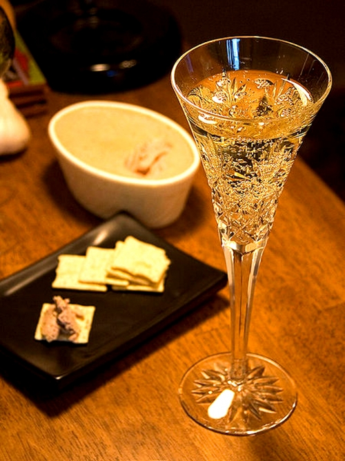 Champagne - Traditional  New Year Foods