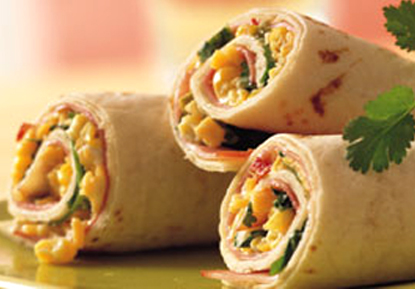 Cheese Tortilla Roll-Ups - Great Summer Party Appetizers