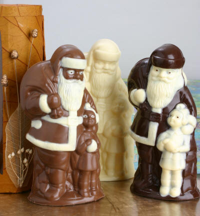 edible santa claus