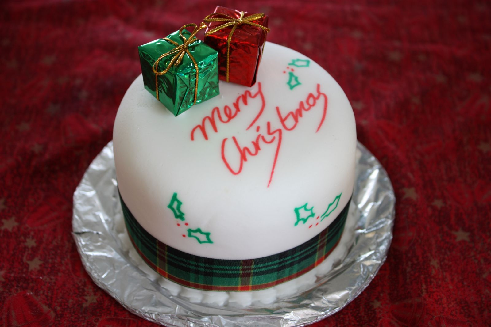 Christmas Cake - Traditional Christmas Foods