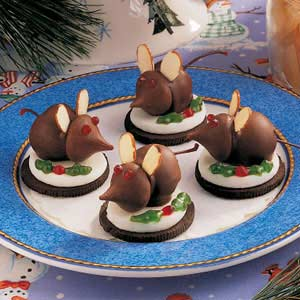 Christmas Mice Candy