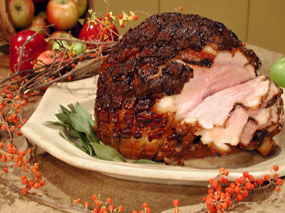 Glazed Ham for Christmas