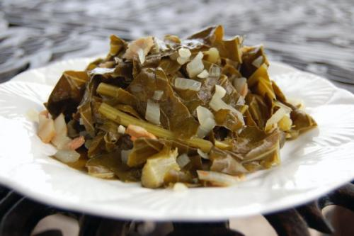 Cooked Greens - Traditional  New Year Foods