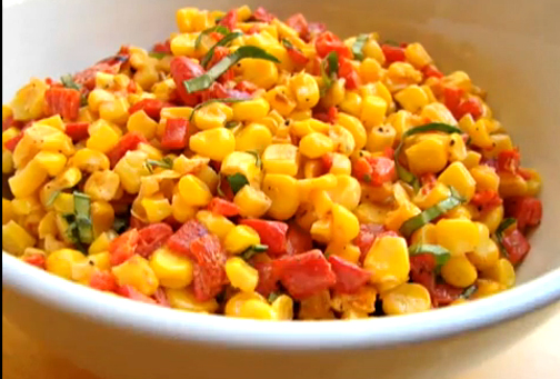 Confetti Corn Salad - Refreshing Corn Starters