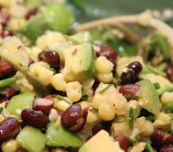Corn And Black Bean Salad - A Spicy Side Dish In Mardi Gras Menu