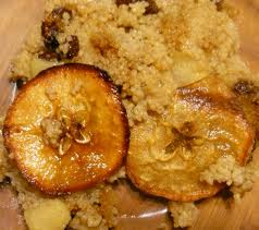 Dairy Free Apple Couscous Pudding