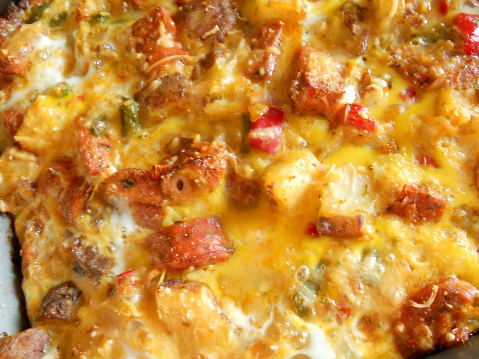 Egg And Sausage Breakfast Casserole - Easy Breakfast Egg Casserole