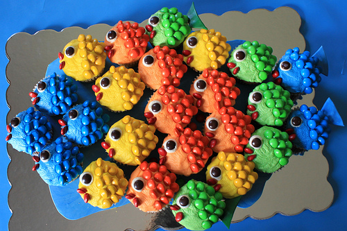 3 Easy Fish Cupcake Ideas | ifood.