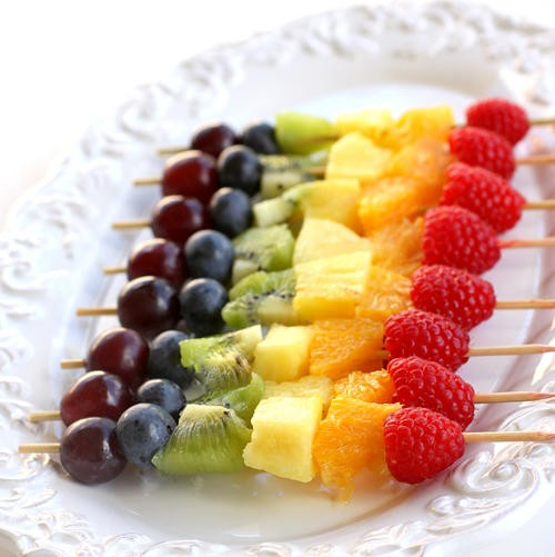 Fresh Fruit Kabobs