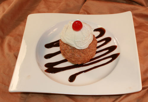 Fried Ice Cream - Crunchy Cinco De Mayo Menu Dessert