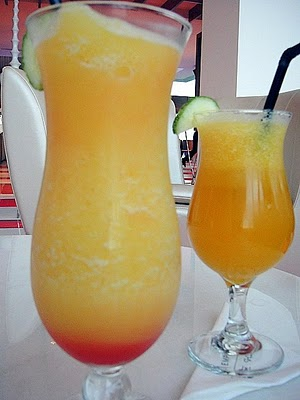Frothy Orange Pineapple Punch