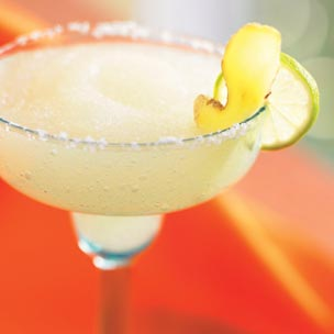 Frozen Ginger Margarita For Your Holiday Menu