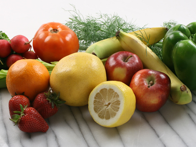 Hair loss and fruits