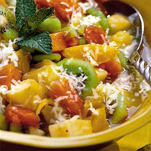 Fruity Cottage Cheese Salad - Fruity Paneer Starters