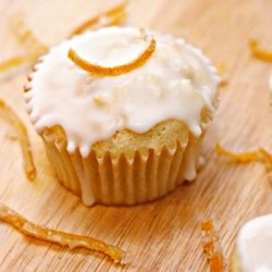 Glazed Lemon Cupcakes