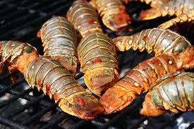 Grilled Lobster Tails - Grilled Lobster Starters