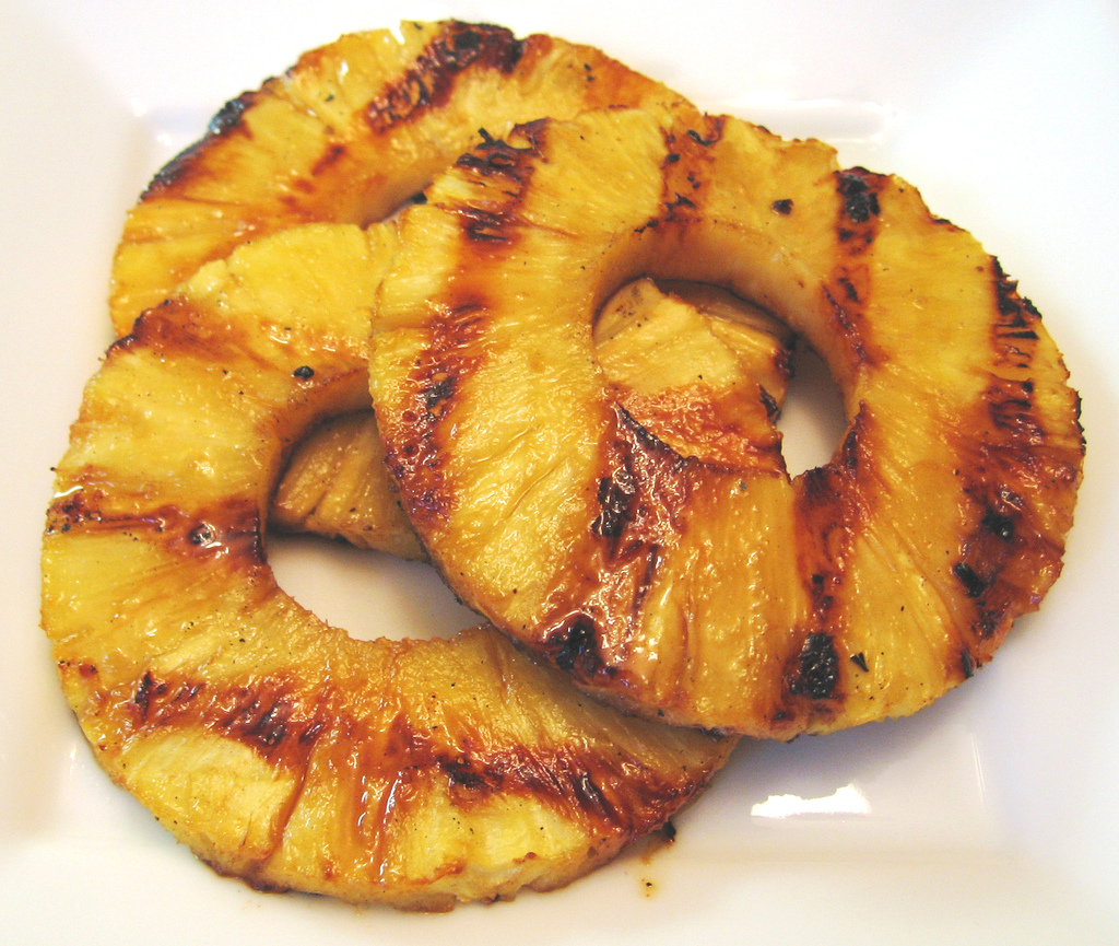 Grilled Pineapples