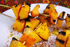 how to cook butternut on a gas grill