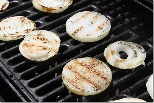 how to cook onion on a gas grill