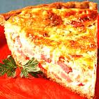 Ham Quiche - An Interesting Thing To Do With Leftover Ham