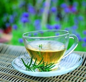 Herbal tea skin benefits