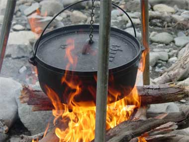 Use Dutch ovens