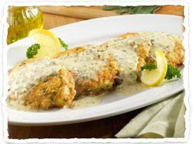Chicken with Lemon Sage Sauce