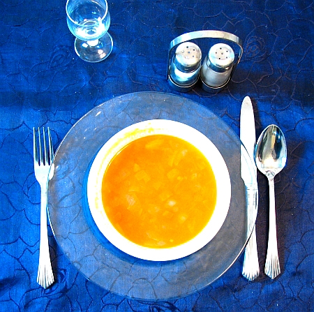 Linsensuppe