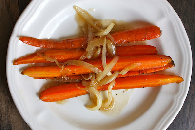 Maple-Glazed Carrots And Shallots