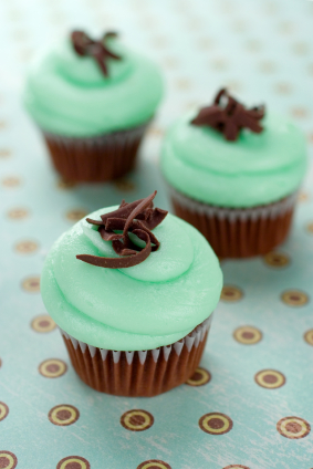 Mint Chocolate Cupcakes
