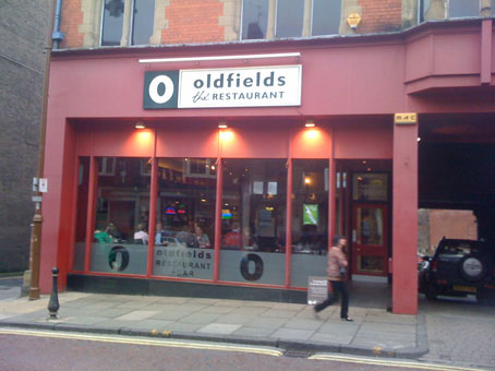 Oldfields Restaurant In Durrham