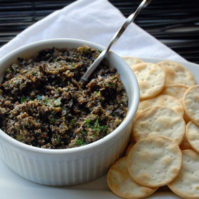 Raw Food Olive Tapenade