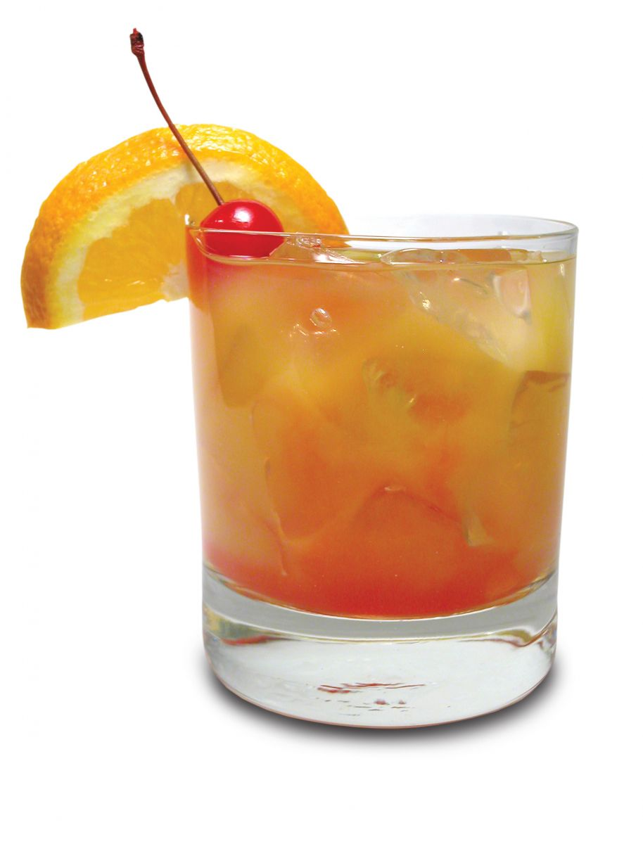 Orange Sunrise Drink