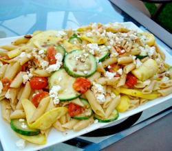 Pasta with Autumn Vegetables -Tasty Pasta Starters