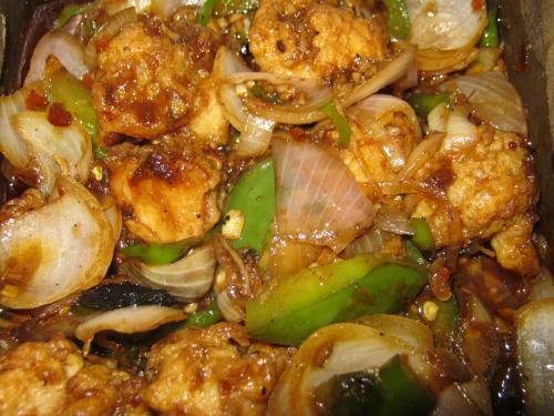 Peppered Chicken - Mardi Gras Menu Side Dish