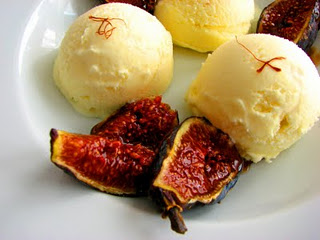 Persian Saffron Ice Cream