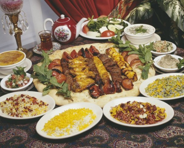 Persian Street Food Delights