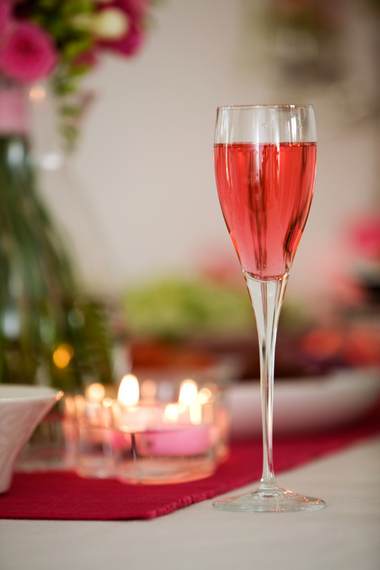 Champagne Delight With Pink Champagne